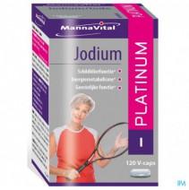 Mannavital Jodium Platinum V-caps 120