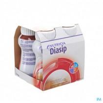 Diasip Chocolade Fles 4x200ml,Diasip Chocolade Fle