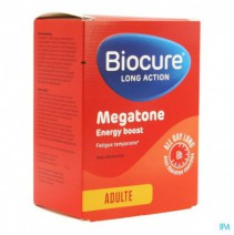 Biocure Long Action Megatone Energy Boost Comp 60,