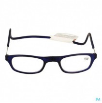 Clipyreader Bril +1.50 Blauw,Clipyreader Bril +1.5
