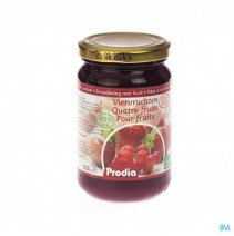 Prodia Broodbeleg 4 Vruchten + Maltitol 300g 6189,