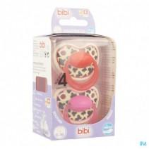 Bibi Happiness Fopspeen Dental Tiger 6-16m Duo,Bib
