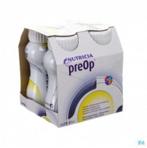 Preop Drink Citroen Fles 4x200ml 571499,Preop Drin
