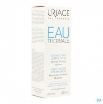 Uriage Thermaal Water Creme Licht Water Ip20 40ml,