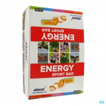 Etixx Energy Sport Bar Orange 12x40g,Etixx Energy