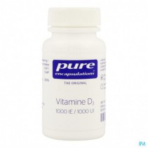 Pure Encapsulations Vitamine D3 1000ie Caps 60,Pur