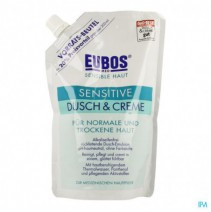 Eubos Creme Douche Sensitive Refill 400ml,Eubos Cr