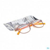 Pharmaglasses Leesbril Comp. +1.50 Brown/orange