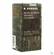 Korres Kb Fragrance Mountain Pep.berg.corian. 50ml
