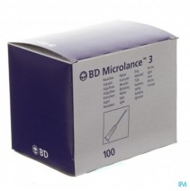 Bd Microlance 3 Nld 26g 5-8 Rb 0,45x16mm Bruin 100
