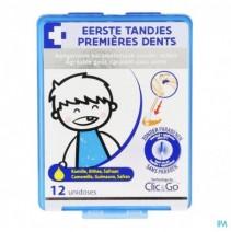 Clic&go Eerste Tandjes Unidosis 12