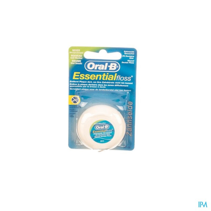 oral-b-floss-esssential-floss-mint-waxed-50m