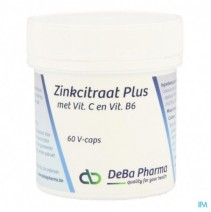 zinkcitraat-plus-caps-60-deba