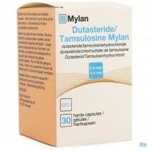 Dutasteride Tamsulosine Mylan 0,5mg-0,4mg Caps 30