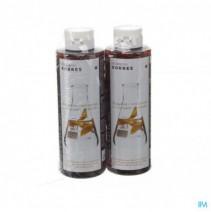 Korres Kh Shampoo Sunflower&tea 2x250ml Promo