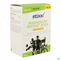 Etixx Magnesium Instant Stick Tropical 30 Sticks,E