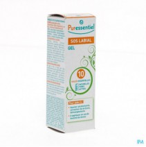 Puressentiel Sos Labial Gel 10 Ess.olie 5ml,Puress
