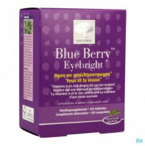 New Nordic Blue Berry Eyebright Comp 120,New Nordi