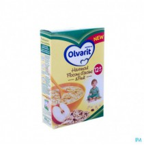 Olvarit Havermout & Fruit 12m 250g,Olvarit Havermo