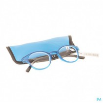 Pharmaglasses Leesbril Round +3.50 Blue/black