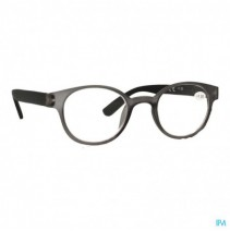 Pharmaglasses Leesbril Round +1.50 Grey/black,Phar